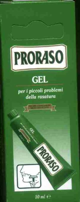 Blutstillendes Gel von Proraso 10 ml