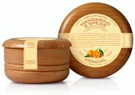Mondial Rasiercreme 140 ml im Holztiegel, Zagara - Bild vergrößern