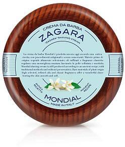 Mondial Rasiercreme 140 ml im Holztiegel, Zagara - Produktbild
