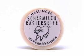 Rasierseife Schafmilch&Lanolin von Haslinger - Bild vergrößern