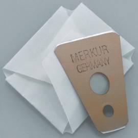 Ersatzklingen für den Merkur Schnurrbartrasierer - Bild vergrößern