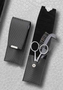 Bartpflegeset im Etui - Bild vergrößern