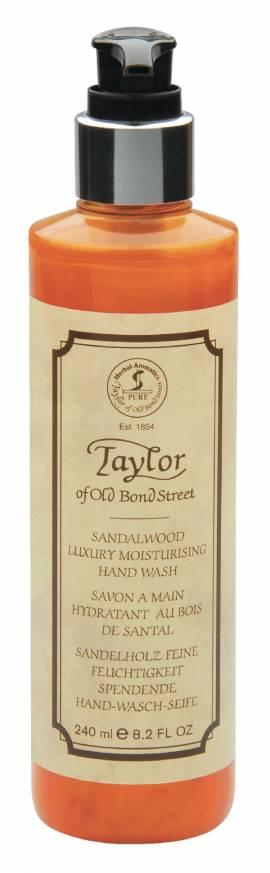 Flüssige Handseife im Pumpspender von Taylor, 240ml - Bild vergrößern