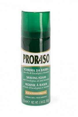 Proraso Rasierschaum,  Reisegröße 50ml für die normale Haut - Bild vergrößern