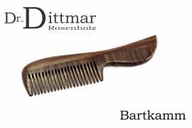 Eleganter Bartkamm aus Rosenholz - Bild vergrößern
