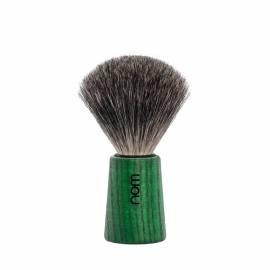 Rasierpinsel THEO, Esche, Green Ash mit Naturborsten - Bild vergrößern