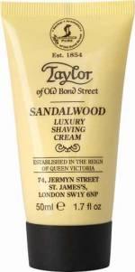 Taylor of Old Bond Street Shaving Cream Sandalwood, 50 ml