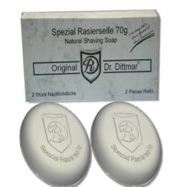 Dr. Dittmar Spezial-Rasierseife, 2 Stück zu je 70g