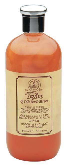 Sandelholz Dusch- und Badegel von Taylor, 500ml