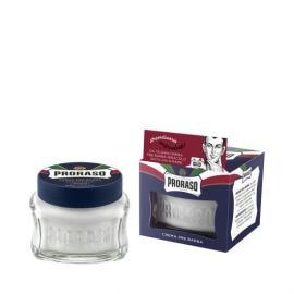 Proraso-Pre Shave Creme, Li im Gläschen,mit Aloe vera und Vitamin E 100ml, für die empfindliche Haut