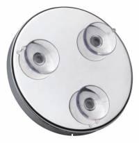 Rasierspiegel mit 7-facher Vergrösserung mit Saugnapf zur Befestigung an normalem Spiegel