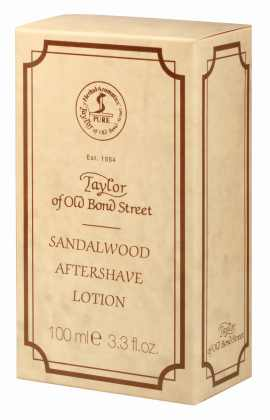 AfterShave Lotion Sandelholz von Taylor of Old Bond Street, 100 ml