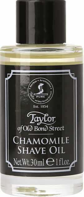 Taylor of Old Bond Street Rasier-Öl Kamille, 30 ml