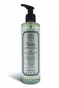 Flüssige Handseife Lime im Pumpspender von Taylor, 240ml