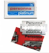 Premium-Rasierklingen Personna-Platinum