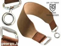 Breiter Streichriemen / Abziehleder Dr. Dittmar Prima Rindleder