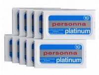 100er Premium-Rasierklingen Personna-Platinum, 100er-Sparpack